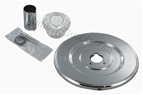 Shower Replacement Kits by Chrome Tub Shower Trim Kits For Delta Valley And Moen