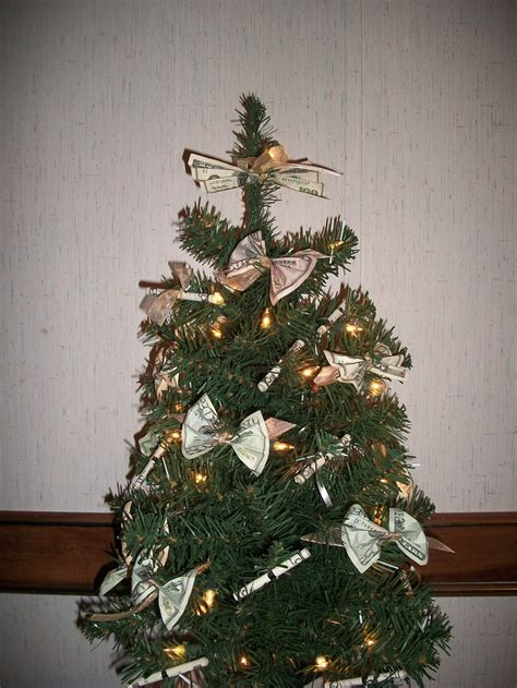 money christmas tree gift ideas pinterest