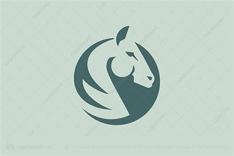 Auto Logo Pferd by Logo With Horse In Circle