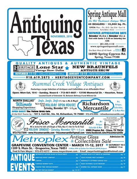 ant tx upload 11 16 by antiquing issuu
