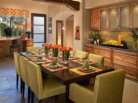 Kitchen Table Decor Ideas Colorful Kitchens Kitchen Ideas Design With Cabinets Islands Backsplashes Hgtv