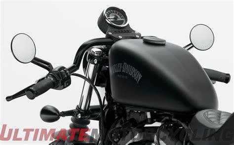 Harley Sportster Clubman Handlebar   Cafe Racer Style
