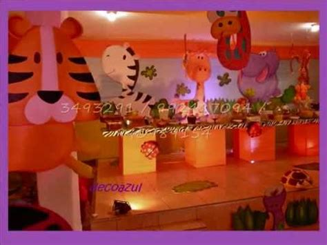decoracion fiestas infantiles youtube decoracion safari decoracion de fiestas infantiles