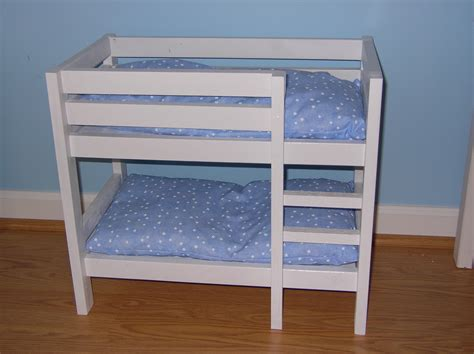 doll bunk beds ana white doll bunk beds diy projects