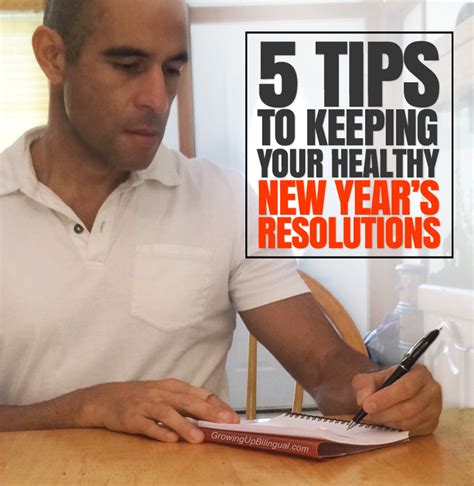 5 tips to keeping your healthy new year s resolutions