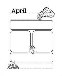 free april newsletter template 13 printable preschool newsletter templates free word
