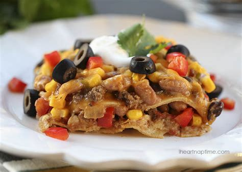 Todays Special Mexican Style Lasagna by Mexican Lasagna I Nap Time