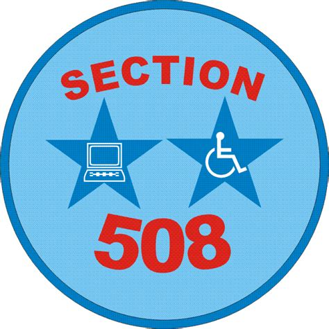 section 508 law section 508 certification 28 images making it