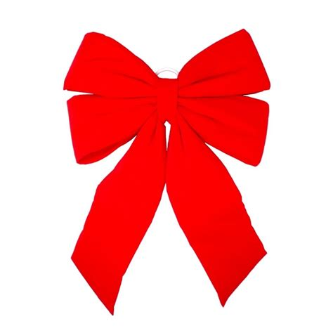 holiday living indoor outdoor commercial red velvet bow