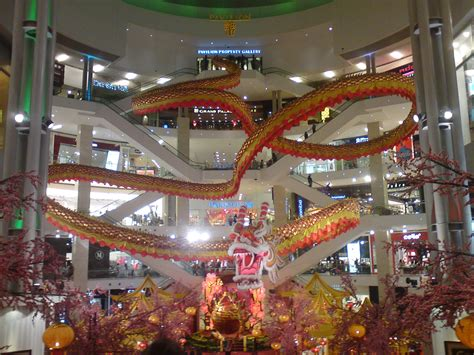 new year decoration shopping mall atmosphere my city by vincent loy