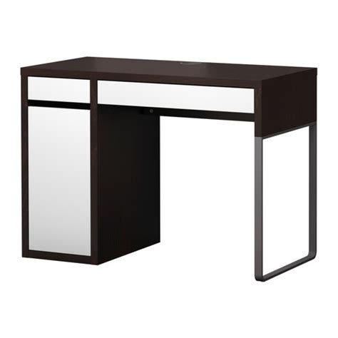 table bureau ikea micke desk white green ikea office ideas