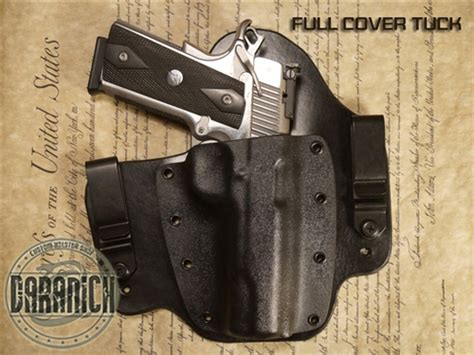 comfortable concealed carry holster best iwb inside the waistband best carry holster