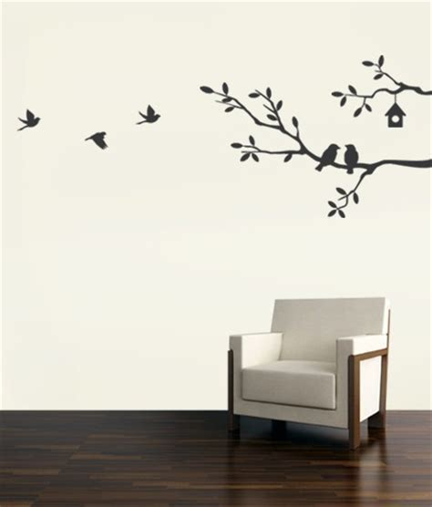 wall stickers branches birds and branches decal vinyl wall sticker