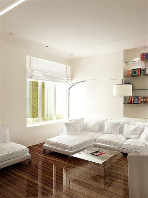 modern living room ideas for small spaces unique arched white floor l with stunning glossy wooden