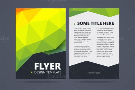 two sided brochure template two sided flyer design template flyer templates on