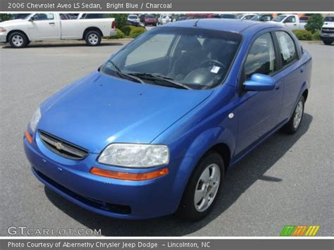 Bright Ls by Bright Blue 2006 Chevrolet Aveo Ls Sedan Charcoal