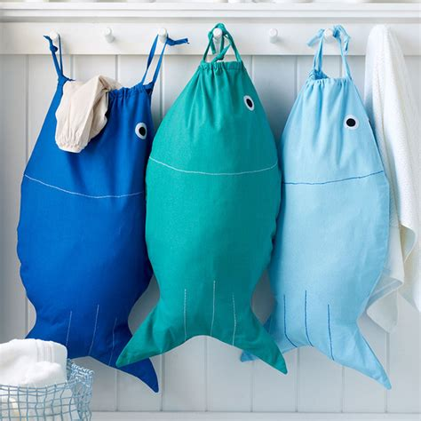 cute laundry bags cute diy bait and hook laundry bag