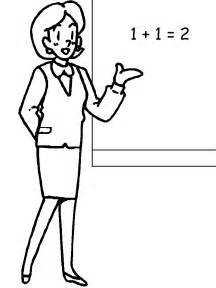 Coloring Pages Of Teachers school coloring pages