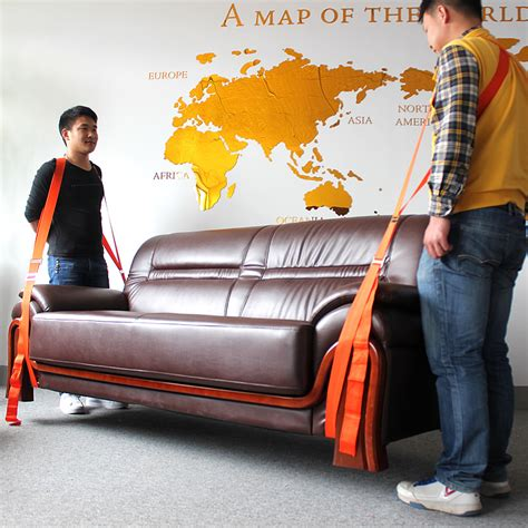 Forearm Forklift Furniture Moving Rope 2pcs Diskon 2x forearm lifting moving furniture transport belt easier carry rope cheap price retail
