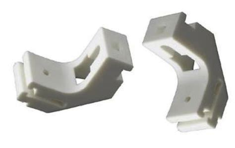 drape brackets 5x strong white curtain track bracket whiteline harrison