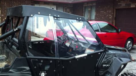 Galerry polaris rzr full cab enclosure