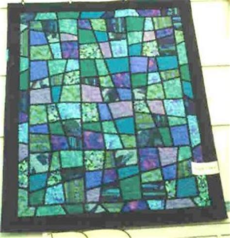 Magic Tiles Quilt Pattern by Stained Glass Applique Quilts And Quilting