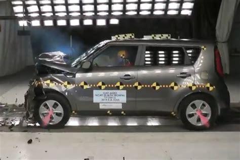 Kia Soul Crash 2014 Soul Safety Rating Kia News
