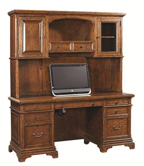 desk with credenza aspenhome hawthorne 74 inch credenza desk and hutch with 3