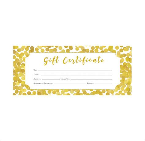gold gift card template 36 blank certificate template free psd vector eps ai