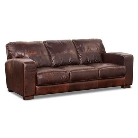 Aspen All Leather Sofa 1g 4442s Soft Line Afw Aspen Leather Sofa