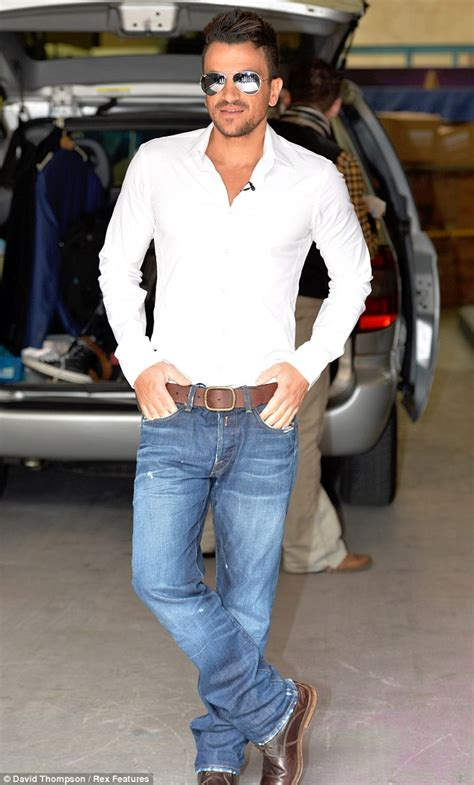 senior mensfashion trends peter andre star opens up about coping with his brother s