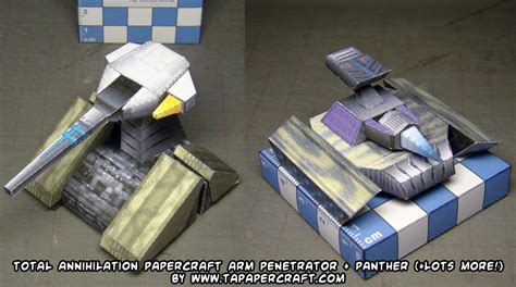 Total Papercrafts - ninjatoes papercraft weblog d l these more total
