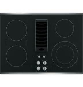Ge Profile Downdraft Electric Cooktop 30 Inch Electric Cooktop Sears Com