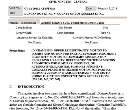 Federal Court Los Angeles Search Rebels Federal Court Finds And Los Angeles Sheriff Collaborated To