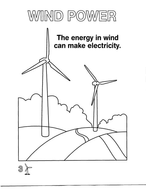 coloring pages energy for kids