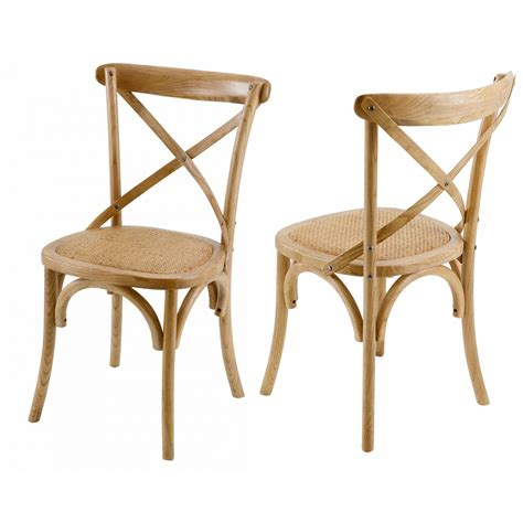 chaises bistrot bois chaise bistrot