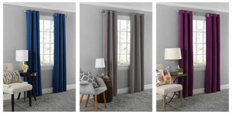 family dollar blackout curtains blackout curtain panels 9 11 each 8 color choices
