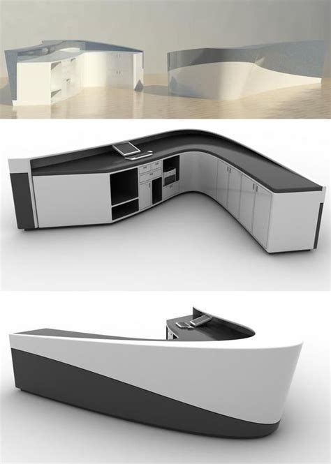 795 Best Desk Information Images On Pinterest Contemporary Reception Desk