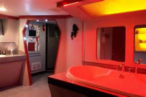 trek bedroom star trek themed home has spock s bed pictures page
