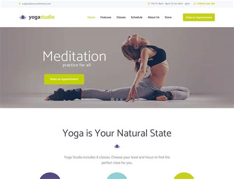 wordpress themes yoga teachers 20 best yoga wordpress themes 2016 athemes