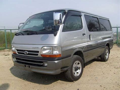 Toyota Hiace 2004 Model 2004 Toyota Hiace Pictures 3 0l Diesel Automatic For Sale