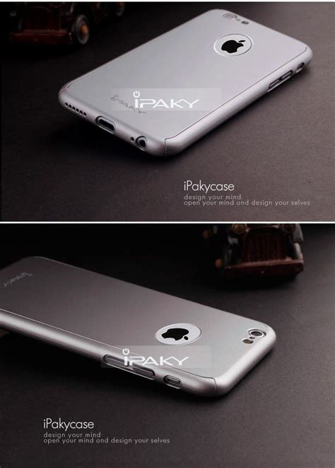 paky apple iphone      full protection metallic finish    ultra thin