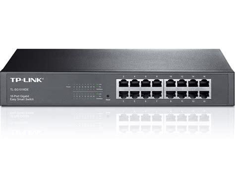 Network D Link 18 Port Poe Switch With 2 Gigabit tl sg1016de switch inteligente de 16 puertos gigabit