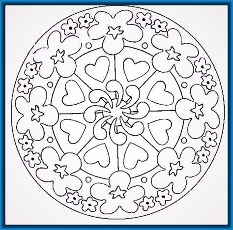 imagenes de mandalas para jovenes dibujos de mandalas para ni 241 os para imprimir archivos