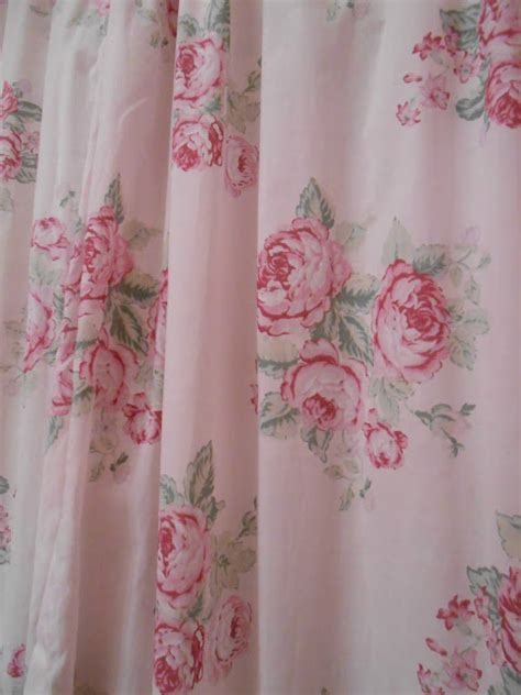 shower curtain shabby chic olivia s romantic home shabby chic bathroom