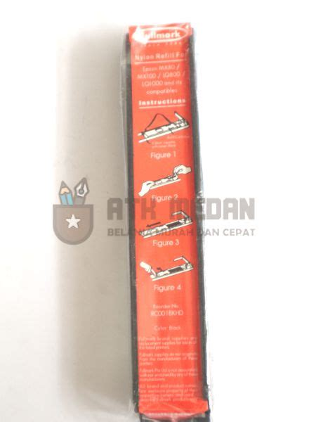 Pita Epson Kasir Erc 30 34 38 Fullmark N636pe harga pita refill 1170 8750 fullmark di medan atk medan
