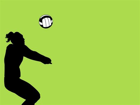 powerpoint themes volleyball sports balls wallpaper clipart panda free clipart images