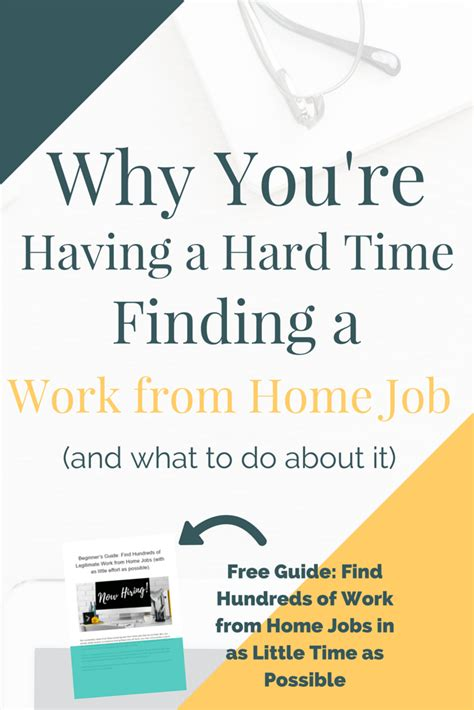Find A Job Working From Home Online - why you re having a hard time finding a work from home job