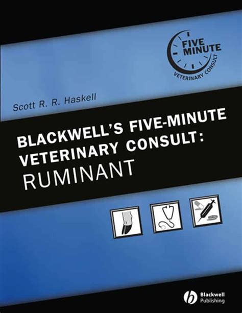 Pdf Blackwells Five Minute Veterinary Consult Canine by 5 Minute Veterinary Consult Ruminant Pdf Veterinary
