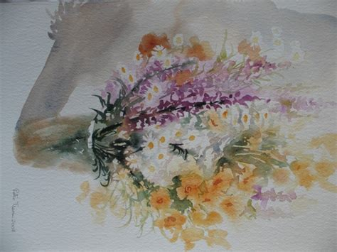 fiori ad acquerello acquerelli fiori